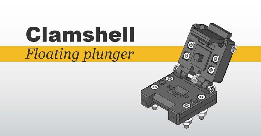 clamshell socket lids - floating plunger